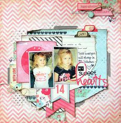 Layout from Missy @ My Scraps and More  -- Crate Paper