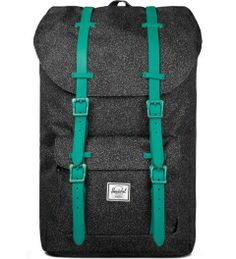 Herschel Supply Co. Speckle/Teal Rubber Little America Backpack   Picutre