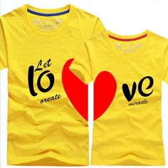 2017 Valentine Day #Gifts Couple #Tshirt for the upcoming #valentines!