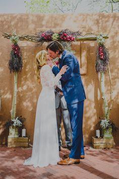 Wedding at Casa De Illume in Santa Fe, New Mexico. gabesegura.com