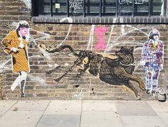 More #mrfahrenheit goodness. I'm not sure who made the beautiful wolf though. @steckandose_gallery  #fashionstreet #london #streetart #londonstreetart  #streetartistry #streetartlondon #pasteup #paste #pasteupart #wheatpaste #londonpasteups #pasteupartist #urbanart #urbanartgallery #wallfilth #streetartofficial #streetarteverywhere #streetartphotography