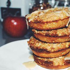 Apple crisp baked donut/doughnut recipe thedonutlady.blog