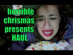 HORRIBLE CHRISTMAS PRESENTS HAUL - YouTube