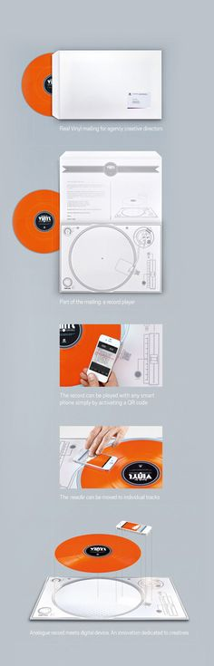BACK TO VINYL - THE OFFICE TURNTABLE  by Klaus-Matin Michaelis