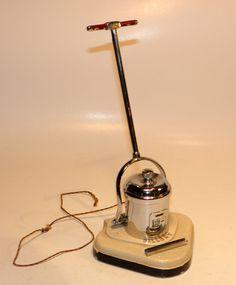 1940s english art deco figural advertiser fillery vacuum cleaner striker lighter