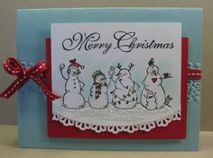 Frosty Friends Card by Barb Mann - Cards and Paper Crafts at Splitcoaststampers