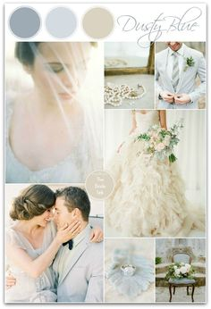 Soft, Neutral Wedding Color Ideas