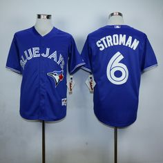 high quality Toronto Blue Jays mens baseball Jersey 6 Marcus Stroman color bule red white gary Marcus Stroman, Toronto Blue Jays, Baseball Jerseys, Top Sales, Red And White, Color, Tops, Fashion, Moda