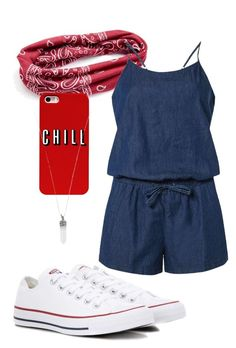 """""""Geen titel #3"""" by eline-hoogland on Polyvore featuring mode, Mudd, Dorothy Perkins, Converse en Marc Jacobs"""