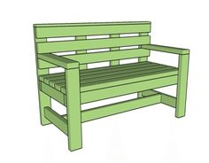 Build a Beautiful Bench with These Free DIY Woodworking Plans: MyOutdoorPlans' Free Outdoor Bench Plan