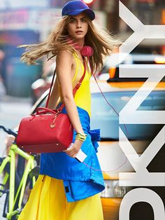 Cara Delevingne's new DKNY campaign will rock your world