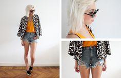 Sietske L. - Orange leopard