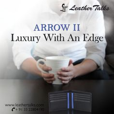 If you talk about functionality, then Arrow II is a clear winner. Provided with two money slots and four card slots that will which makes your job of organizing cards and paper notes more easy. #utilty #style #LT http://leathertalks.com/product/arrow-ii/