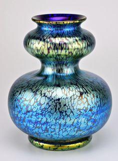 Loetz vase, Papillon pattern