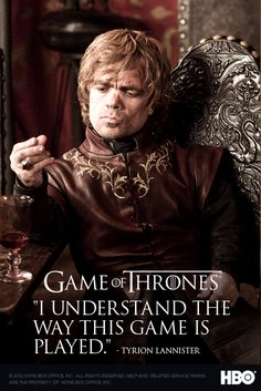 Brilliant show! Peter Dinklage as Tyrion Lannister is beyond amazing.