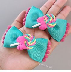 Disney Bows, Girls Hair Accessories, Girls Bows, Hairbows, Girl Hairstyles, Ladybug, Headbands, Crafty, Hair Barrettes