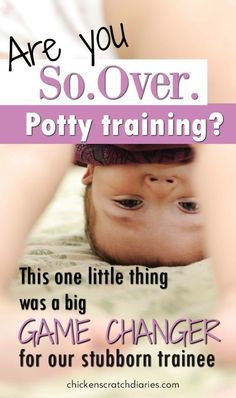 Tips for stubborn potty trainees - especially boys. Encouragement for parents who are fed up with potty training! #PottyTraining #Boys #Toddlers
