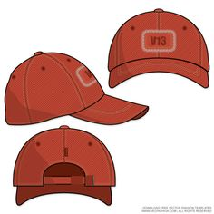 Baseball Cap Vector Template