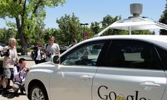 'Like sitting in a taxi': What its like to (not) drive Google's car