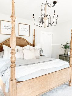The easiest way to inject a bit of personality into your sleeping quarters is through the style or theme of your bedroom. Here are a few bedroom style ideas to get you started. #hunkerhome #bedroom #bedroomstyles #bedroomideas #bedroominspiration Farmhouse Style Bedrooms, Farmhouse Master Bedroom, Farmhouse Style Decorating, Farmhouse Decor, Cozy Master Bedroom Ideas, Farmhouse Lighting, Industrial Farmhouse, Vintage Farmhouse, Country Farmhouse