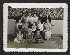 Citation: Pollock family reunion, 1950 / unidentified photographer. Charles Pollock papers, Archives of American Art, Smithsonian Institution.