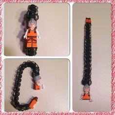 Lego paracord bracelet