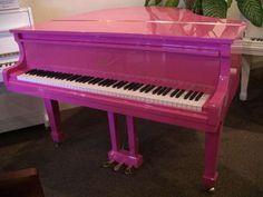 Isn't this piano super girly?!