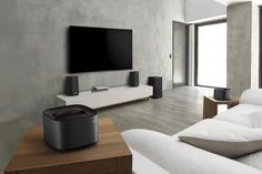 """Philips' living room audio gear includes 'detachable' speakers - Living room audio gear doesn't usually sport dual uses, but Philips' new Fidelio E6 speakers do just that. The units have detachable speakers that can be used as either a stereo setup or separately for 5.1 surround sound """"on demand."""""""