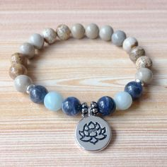 Positive Change Bracelet Set - Unakite, Picture Jasper, and Carnelian Gemstone Bracelets, Love Bracelets, Bracelet Set, Stretch Bracelets, Beaded Jewelry Designs, Handmade Jewelry, Jasper, Jewelry Making, Mindfulness
