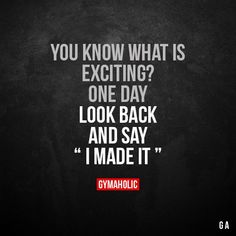 You Know What Is Exciting?  #fitness  #gymaholic #workout