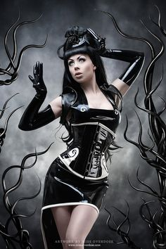 Cyber fetish clothing