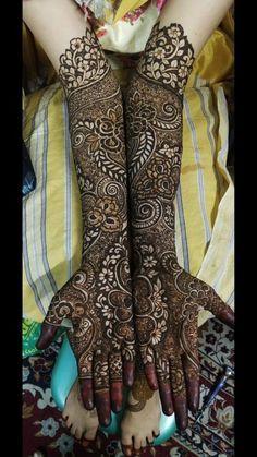 Get Amazing Collection of Full Hand Mehndi Design Ideas here. Henna Hand Designs, Mehndi Designs Finger, Wedding Henna Designs, Floral Henna Designs, Engagement Mehndi Designs, Latest Bridal Mehndi Designs, Full Hand Mehndi Designs, Mehndi Designs 2018, Mehndi Designs Book