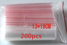 Find More Gift Bags & Wrapping Supplies Information about 200pcs 13x19cm pe transparent travel gift packaging bags plastic bag for necklace/jewelry diy custom ziplock clear self seal bag,High Quality bag,China bags male Suppliers, Cheap bag hand bag from Fashion MY life on Aliexpress.com