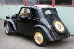"""1936 Fiat 500 A Very rare and early Topolino with """"balestrina corto"""" rear suspension and original engine. Stored the last 50 years. Sound condition but needing restoration."""