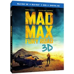 Mad Max: Fury Road (3D Blu-Ray + Blu-Ray) from Warner Bros.: Special Features: - Maximum Fury: Filming Fury Road… #Movies #Films #DVD Video