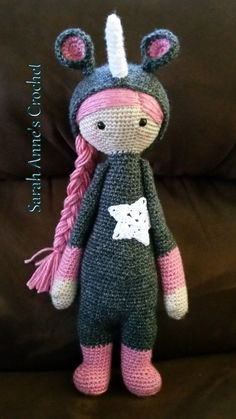 Hey, I found this really awesome Etsy listing at https://www.etsy.com/listing/241009494/lalylala-inspired-unicorn-crochet-doll