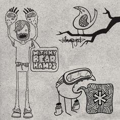 Apparel I by Clint Reid, via Behance