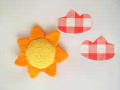 Sun crocheted toy summer by sabahnur on Etsy, $23.00