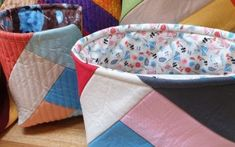 Create fabric baskets for your storage needs