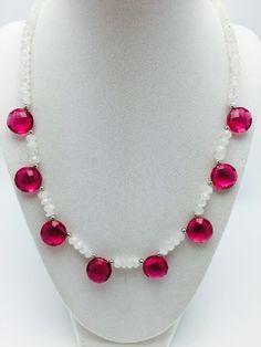 precious gemstone necklace 1015pp