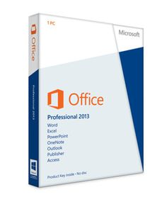 Get a Downloadable copy of Office Professional 2013 Genuine Product at  Order-Tek.com for $224.99 Only!