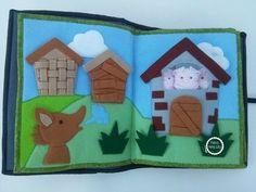 Quiet Book Estórias Infantis