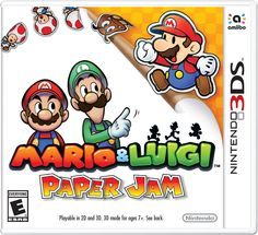 Amazon.com: Mario Luigi Paper Jam - 3DS: Video Games