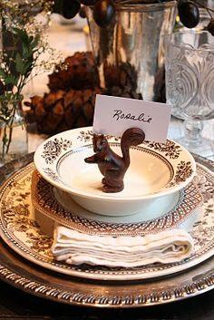 Cute table setting