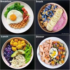 How many meals do you eat in a day?⠀-⠀Another … How many meals do you eat in a day? Healthy Meal Prep, Healthy Snacks, Healthy Eating, Diet Recipes, Cooking Recipes, Healthy Recipes, Food Goals, Meal Planning, Clean Eating
