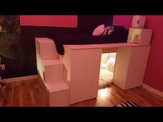 Cabinet Bed - DIY Custom - YouTube