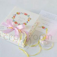 λουλούδια προσκλητήριο-μπομπονιέρα
