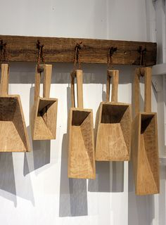 Joshua Vogel - Ltd. Edition Sculptural Wood Kitchen Tools