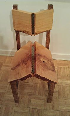"Folding ""Rathskeller"" chair 