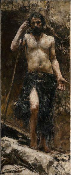 Saint John the Baptist (Antonio Mancini - circa 1890)